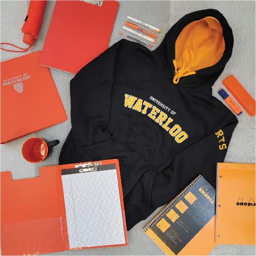 Arts apparel and orange items