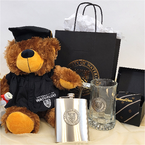 UWaterloo grad bear and other convocation gift items